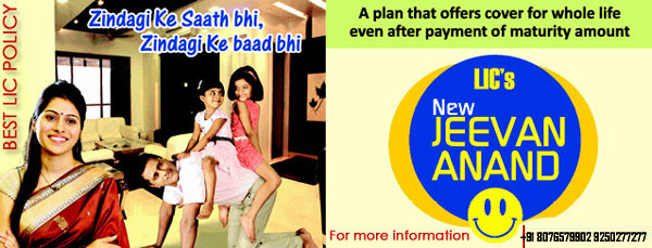 New Jeevan Anand LIC Policy